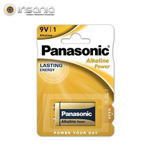 Pilha Panasonic 9V (Pack 1)