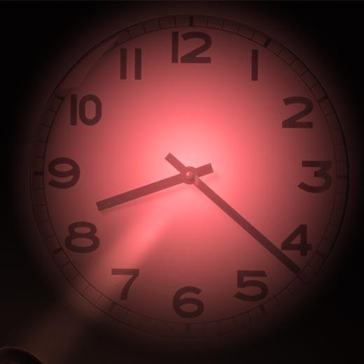Relógio Analógico de Projeção