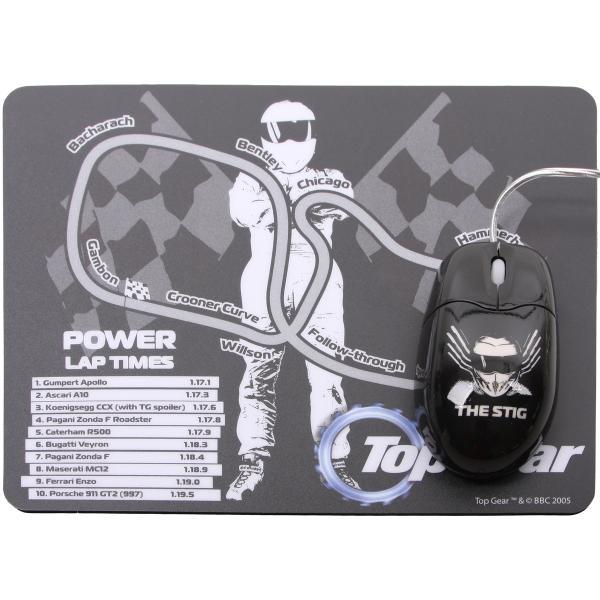Top Gear Stig Rato Óptico e Pista de Corridas