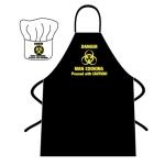 Avental e Chapéu: Perigo! Homem a Cozinhar!