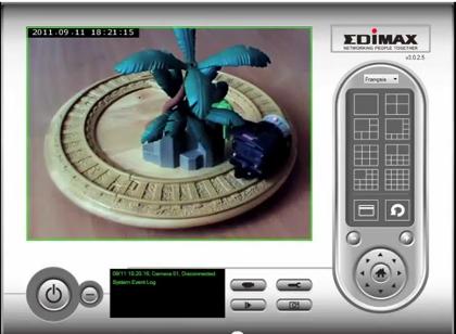 Câmara IP C/Detector Movimentos Edimax IC-3005