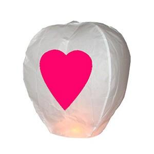 Balão Voador Coração (Pack 5) (Entrega em 24h)