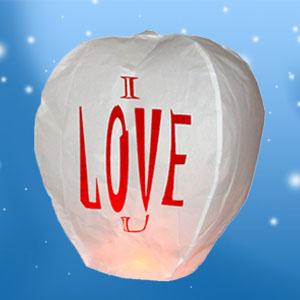 Balão Voador I Love You (Pack 5) (Entrega em 24h)