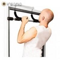 gimnasio, ejercicio, musculación, biceps, triceps, padre vida sana, semana de internet