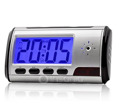 Relógio Despertador Espião Câmara