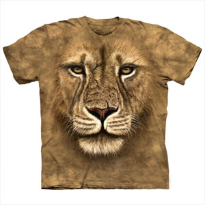 T-shirt Face Leão Guerreiro (Entrega em 24h)