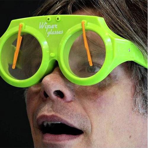 Óculos com Para-brisas