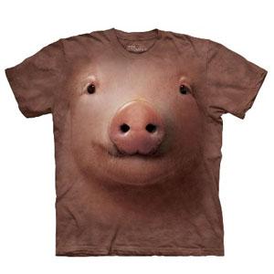 T-Shirt Face Porco (Entrega em 24h)