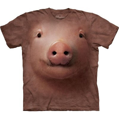 T-Shirt Face Porco