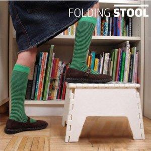 Banco Dobrável Folding Stool (Entrega em 24h)