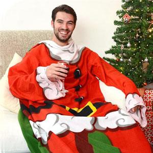 Manta com Mangas Pai Natal (Entrega em 24h)