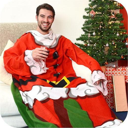Manta com Mangas Pai Natal