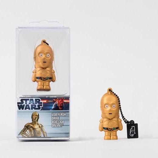 Tribe Pen Drive Star Wars C-3PO 8GB