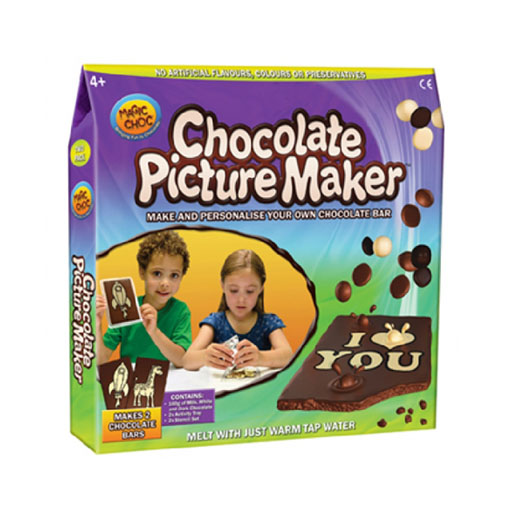 Tabletes de Chocolate Mágico Personalizável (Pack 4) Magic Choc
