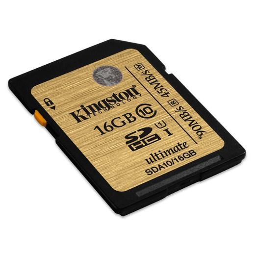 Cartão Kingston SD 16GB