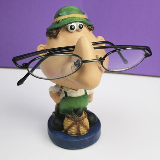 Porta-óculos Pescador