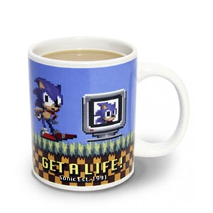 Caneca Sonic The Hedgehog Get A Life (Entrega em 24h)