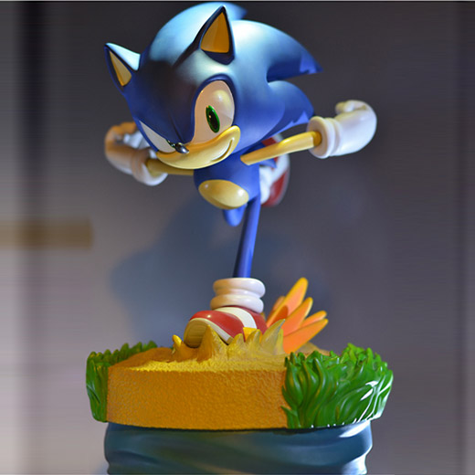 Estátua Sonic the Hedgehog First 4 Figures