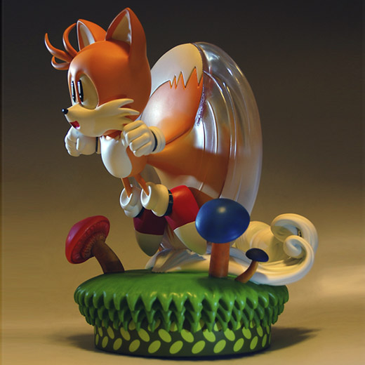 Estátua Tails First 4 Figures