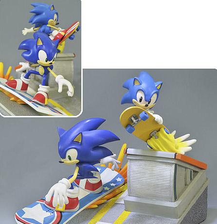 Estátua Diorama Sonic Generations