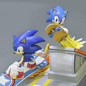 Estátua Diorama Sonic Generations (Entrega em 24h)