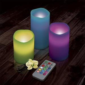Velas LED Emoticandle (Pack 3) (Entrega em 24h)