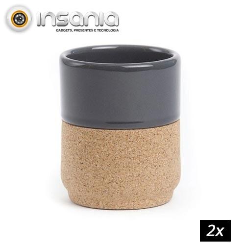 Chávena Cinza (Pack 2)