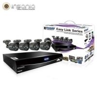 Combo Kit de Videovigilância KGuard DVR EL421 1TB 4 Câmaras