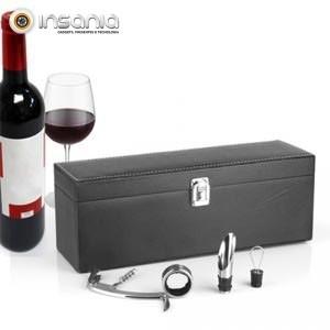 Estuche Regalo  y Accesorios para Vino  Sommelier