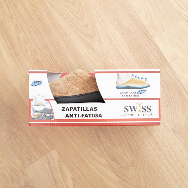 Chinelos Relax Gel Castanho
