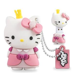 Tribe Pen Drive Hello Kitty Princess 8GB (Entrega em 24h)