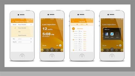 Bee - Tracker de Diabetes Bluetooth