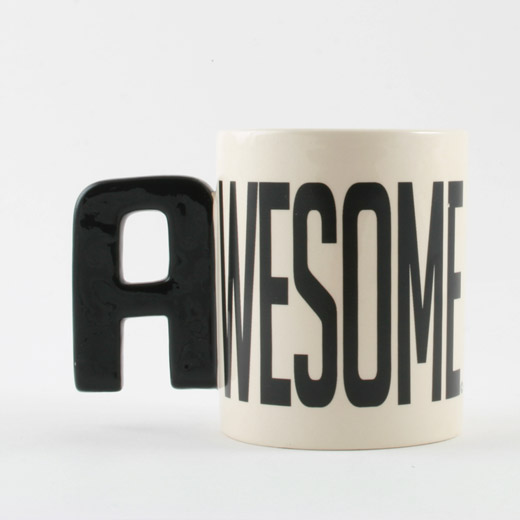 Caneca do Alfabeto - Awesome