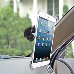 Suporte Universal Rotativo para Tablets Carro (Entrega em 24h)