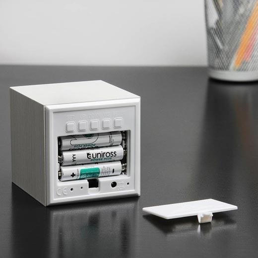 Relógio Despertador Gingko Cube