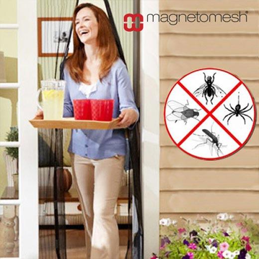Cortina Magnética Anti-insetos