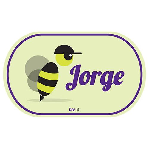 Etiquetas Nome Jorge (Pack 2)