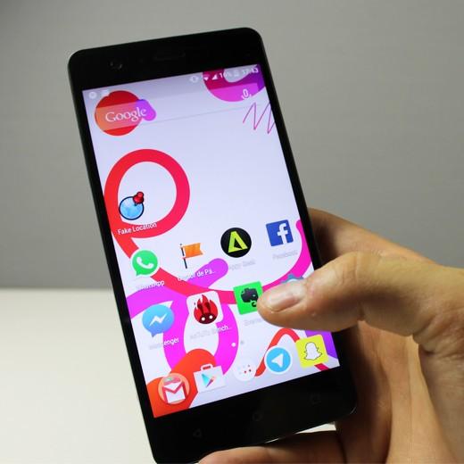 Smartphone bq Aquaris M5 FHD 4G 16GB + 2GB de RAM preto ...
