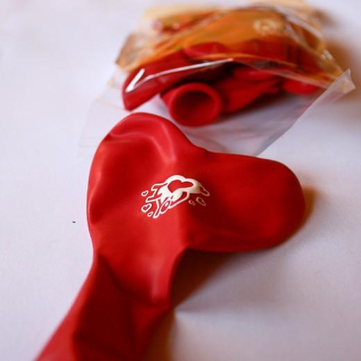 Balões Coração Vermelho I Love You 26 cm (Pack 10)
