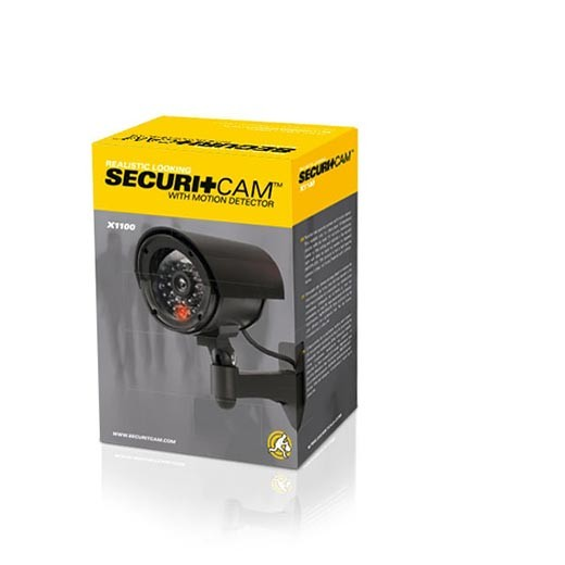 Câmara de Videovigilância Falsa Securitcam