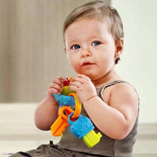 Mordedor com Guizo para Bebés