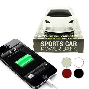 Carregador Powerbank Carro Desportivo 5200mAh (Entrega em 24h)