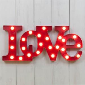 Luz Decorativa Love (Entrega em 24h)
