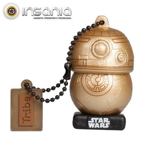 Tribe Pen Drive Star Wars Gold Edition BB-8 16GB