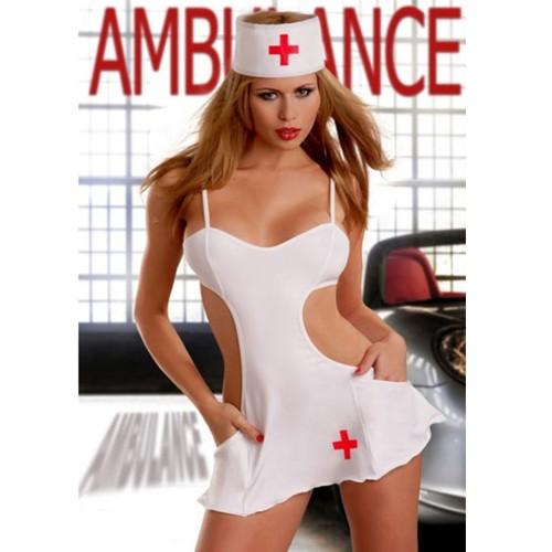 Conjunto Sexy Enfermeira Branco