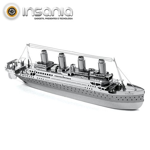 Maqueta Metal Titanic
