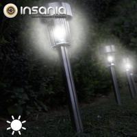 Jardim, Exterior, Luz, Luzes Solares