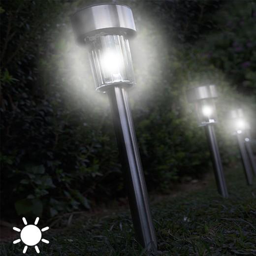 Luz Solar Circular (Pack 5)