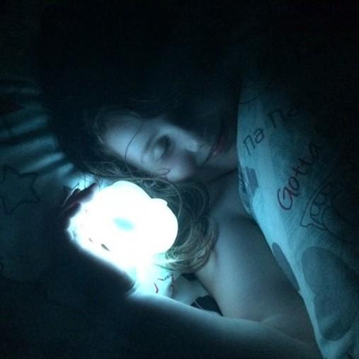 Luz de Presença para Crianças Sleep Buddy Macaco