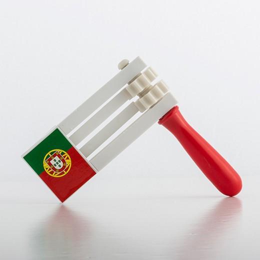 Matraca c/ Bandeira de Portugal